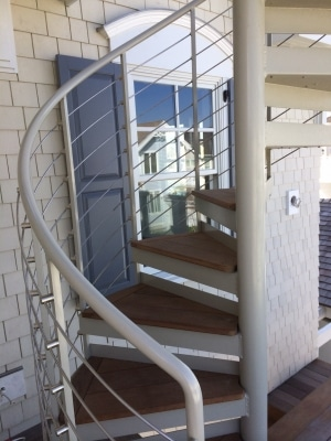 Custom Spiral Staircase NJ