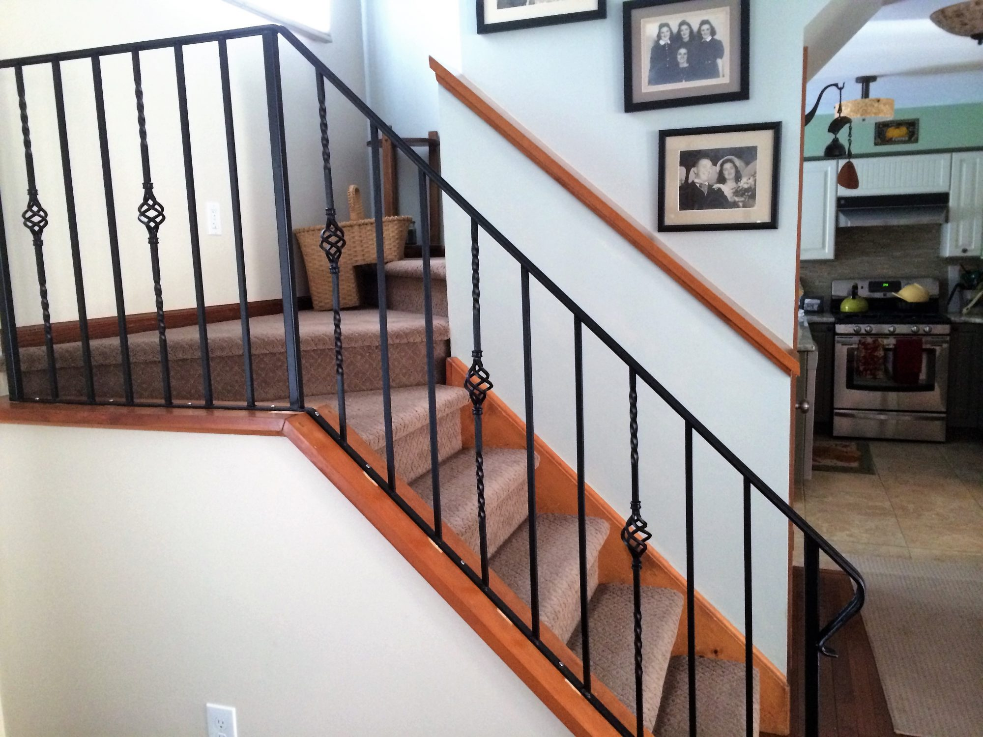 Wrought Iron Railing Systems New Jersey Mitchell Welding Iron Works Inc