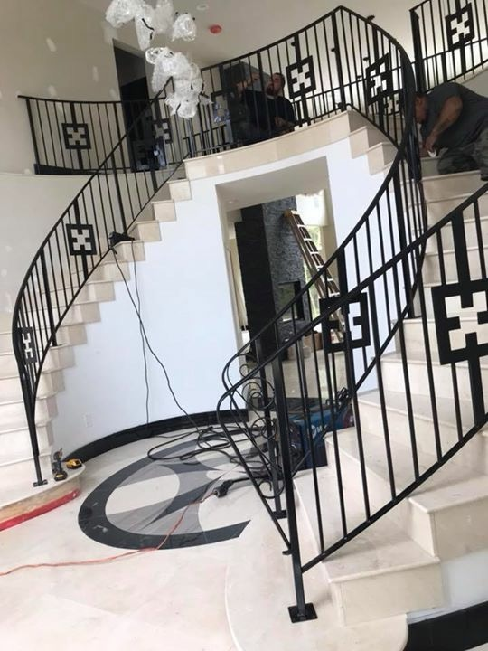 Wrought Iron Railing Systems New Jersey Mitchell Welding
